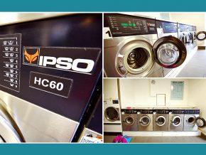 Waschsalon Bamberg: IPSO-HC60-Gewerbewaschmaschinen 6Kg
