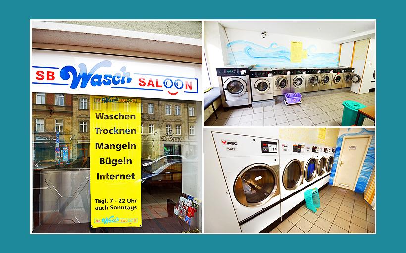 Waschsalon Bamberg - Wäsche waschen, Wäsche Bügeln, Trocknen, Wäsche mangeln, sowie freies Internet