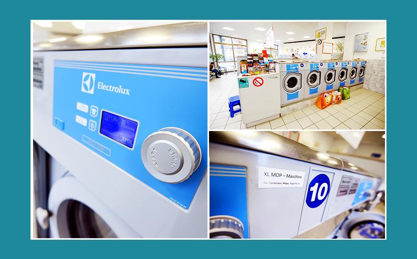 Waschsalon Nürnberg: Electrolux Gewerbewaschmaschinen