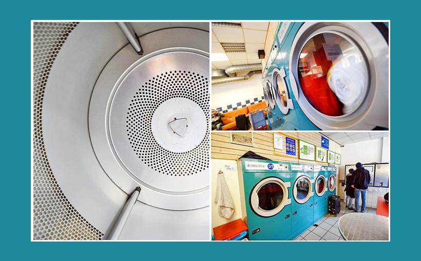 Waschsalon Nürnberg Große Trockner, Electrolux-Gewerbetrockner
