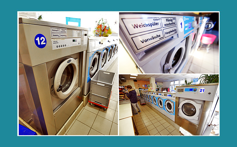Waschsalon Nürnberg - Große Waschmaschinen, Electrolux 14 Kg Gewerbewaschmaschinen