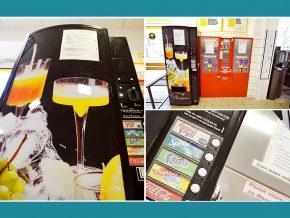 Waschsalon Berlin: Getränkeautomat