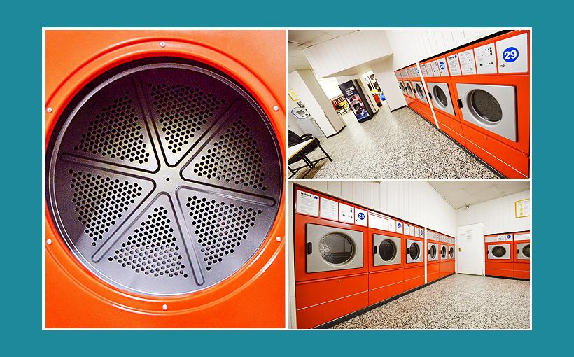 Waschsalon Berlin: Gewerbetrockner