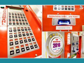Waschsalon Berlin: Kassenautomat