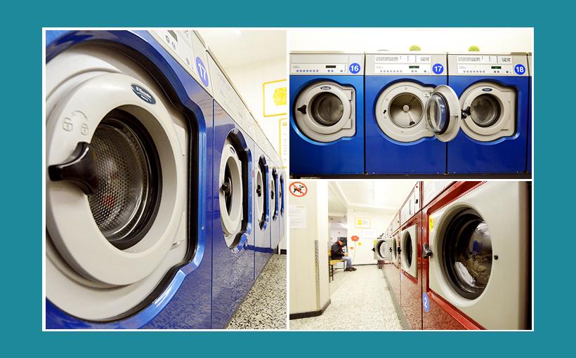 Waschsalon Berlin - Electrolux-Gewerbewaschmaschinen