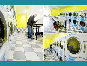 Waschsalon Frankfurt am Main - Electrolux Gewerbetrockner