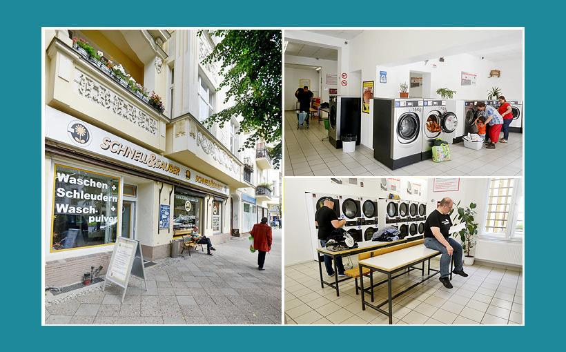 Waschsalon Berlin Schnell Sauber