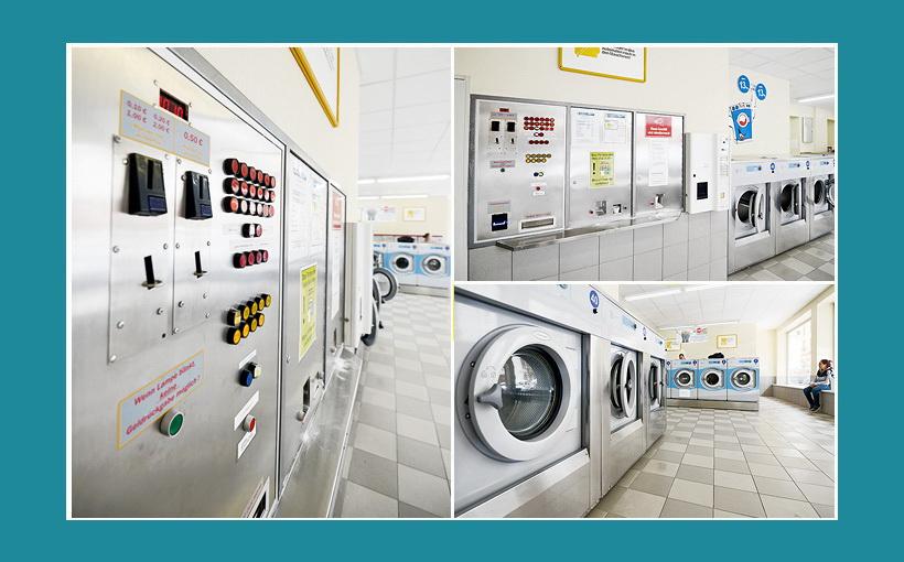 Zentralsteuerung Waschsalon