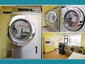 Waschsalon Leipzig Miele Profi Waschmaschinen