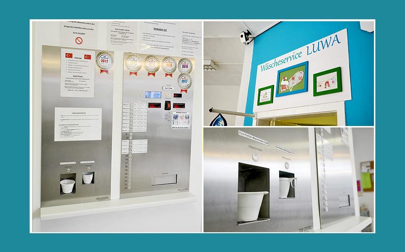 Waschsalon Automat