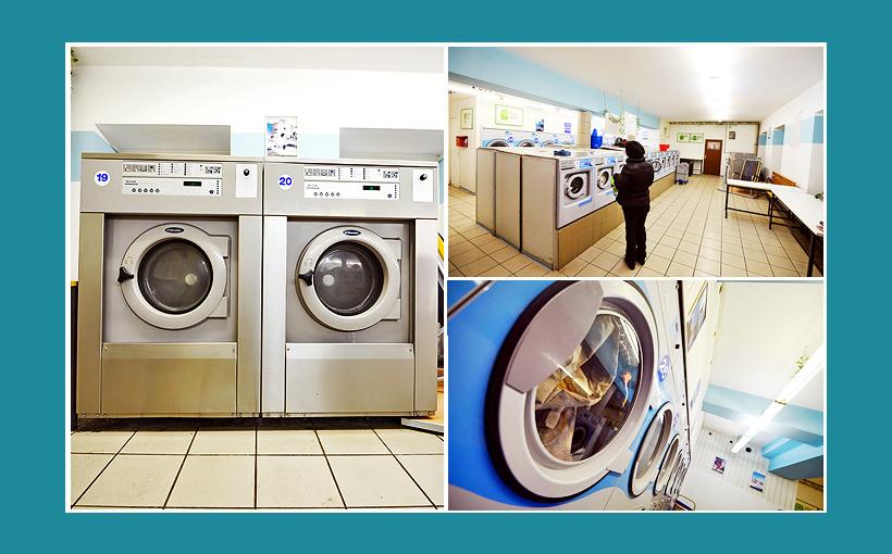 Waschsalon Nürnberg: Große Electrolux Waschmaschinen