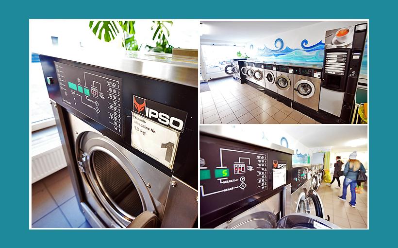 Wäscherei Erlangen - 18kg IPSO-Waschmaschinen