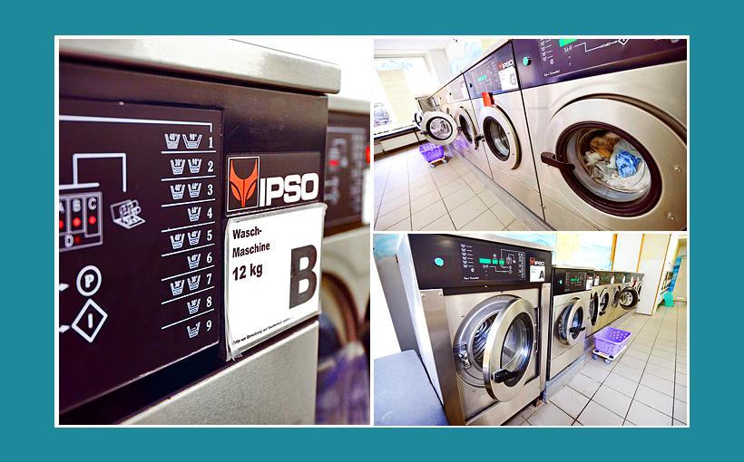 Waschsalon Bamberg: IPSO-Gewerbewaschmaschinen und Industriewaschmaschinen für Wäscherei