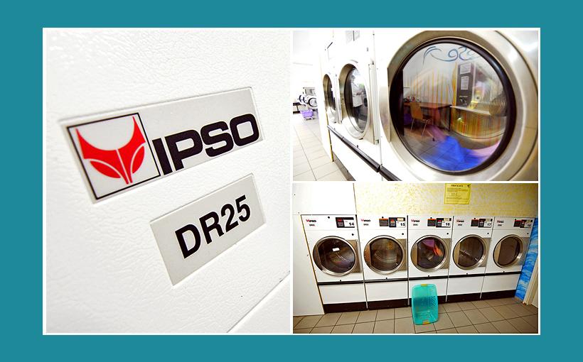 Waschsalon in Bamberg: Große IPSO-Wäschetrockner und Gewerbewaschtrockner