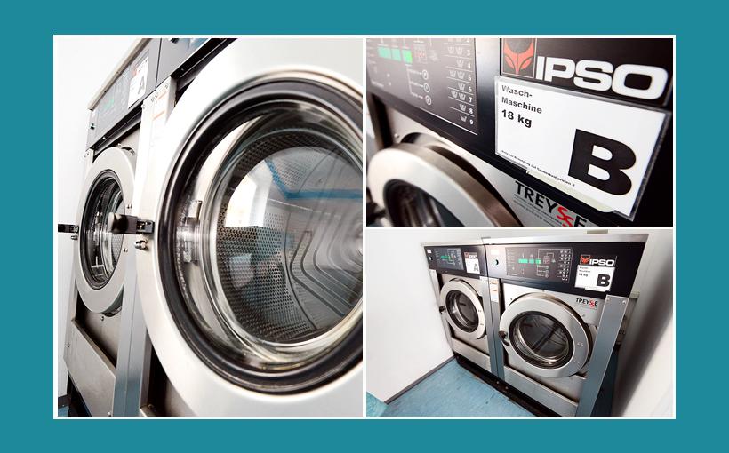 Wäaschrei & Waschsalon in Fürth - große IPSO Gewerbewaschmaschinen