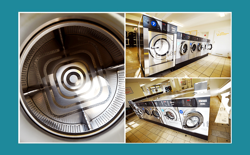 Waschsalon Berlin - IPSO-Waschmaschinen