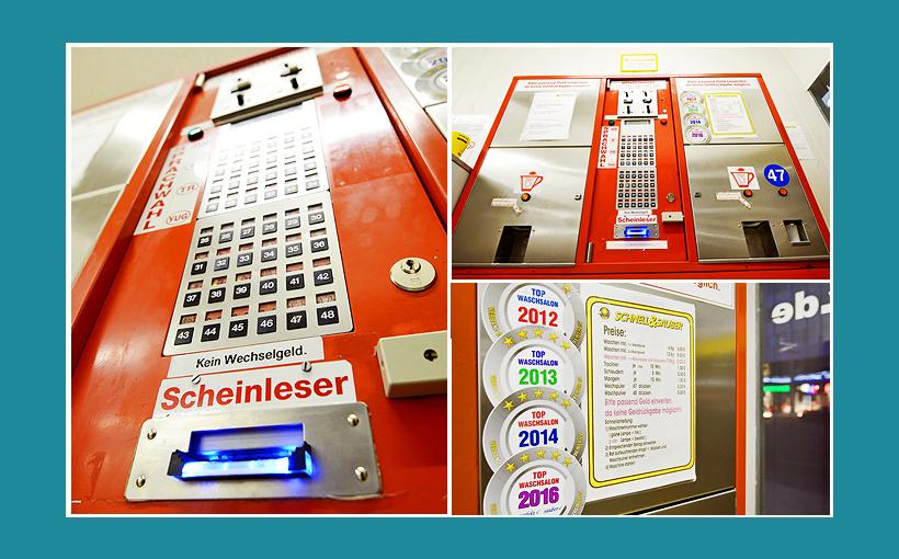Waschsalon Berlin Kssenautomat, Zentralsteuerung Maschinensteuerung