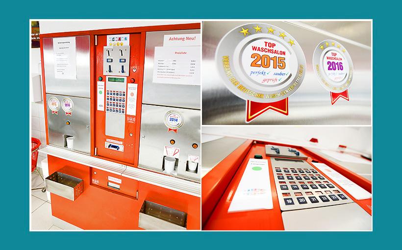 Waschsalon Hamburg Kassenautomat