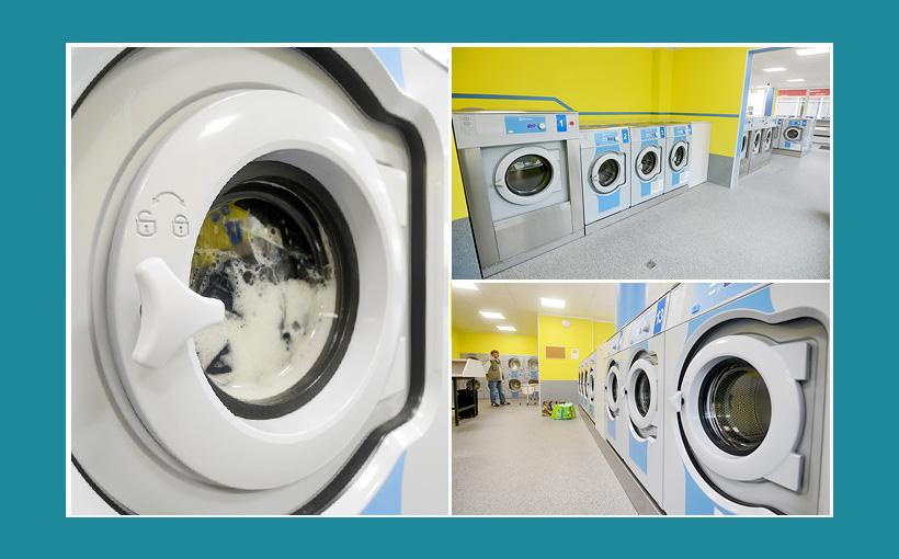Erectrolux Waschmaschinen für Wäscherei und Waschsalon