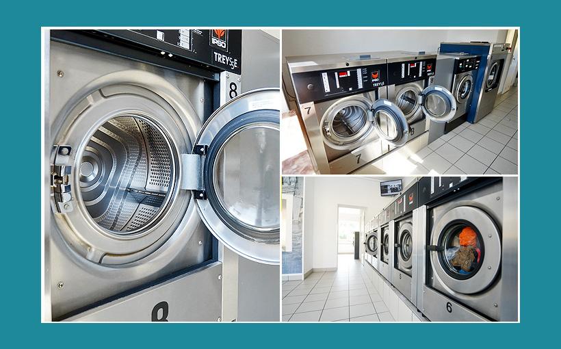 IPSO Waschmaschinen für Waschsalon