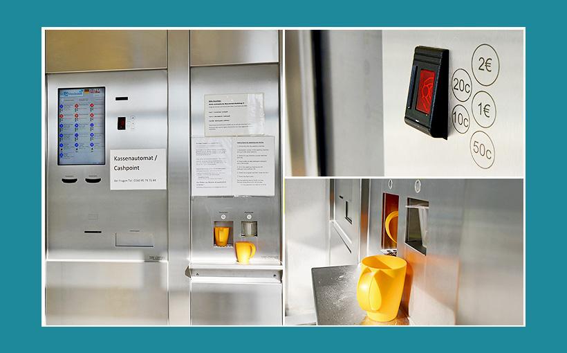 Kassenautomat Waschsalon