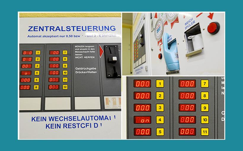 Waschsalon Zentralsteuerung
