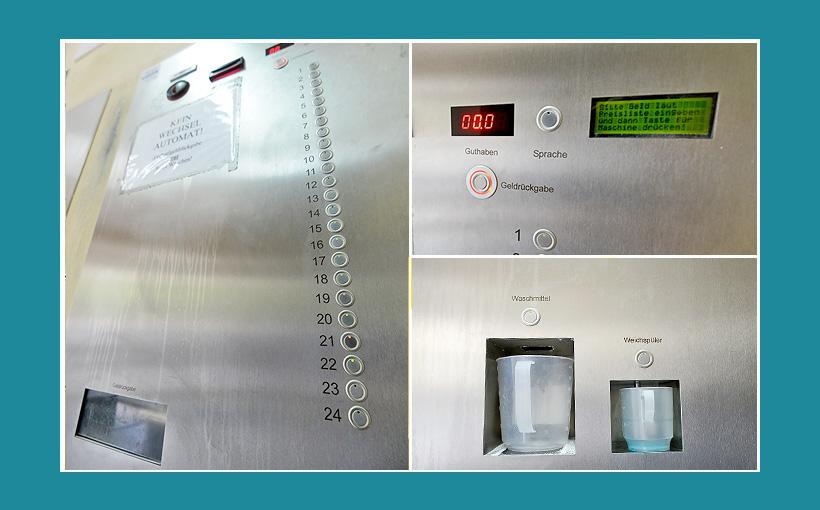 Zentralsteuerung Kasse Bezahlkasse Zahlautomat
