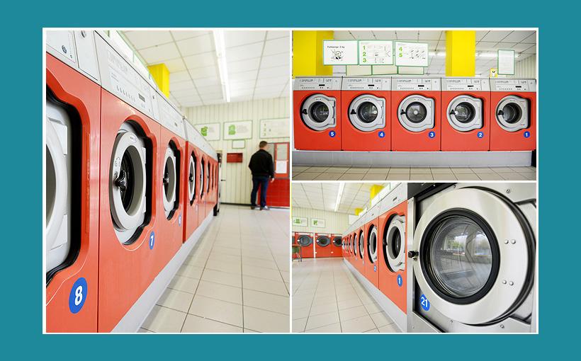 Waschmaschinen für Waschsalon