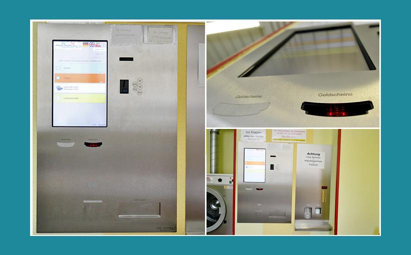 Waschsalon Leipzig Zentralkasse Bezahlautomat