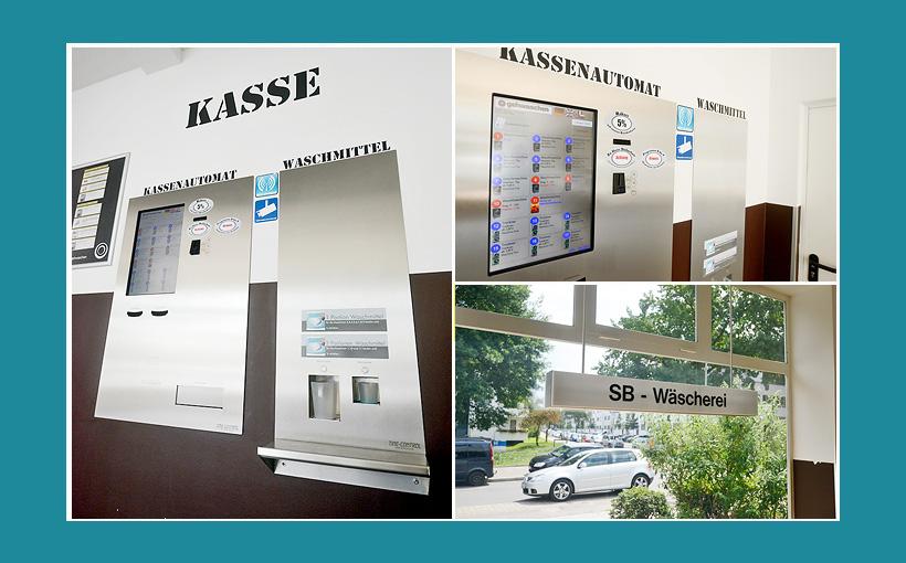 Kasse-Waschsalon