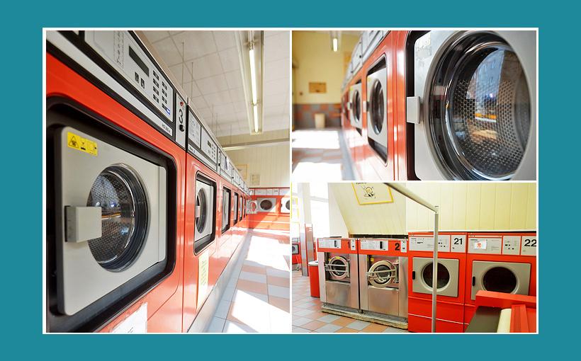 Gebrauchte Profi Waschmaschinen-Waescherei