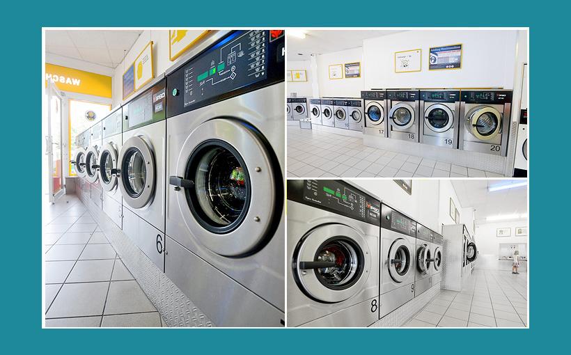Ipso-Waschmaschinen der Firma Treysse