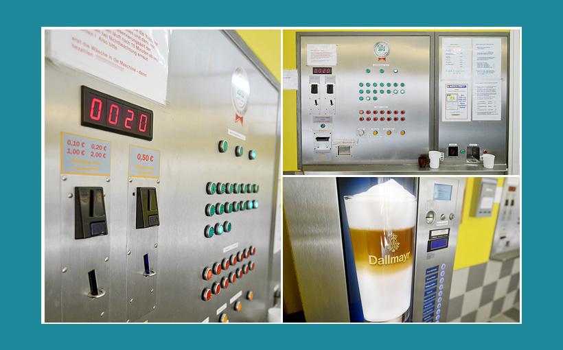 Waschsalon Zentralsteuerung Automat