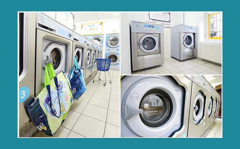 Waschsalon Waschmaschinen